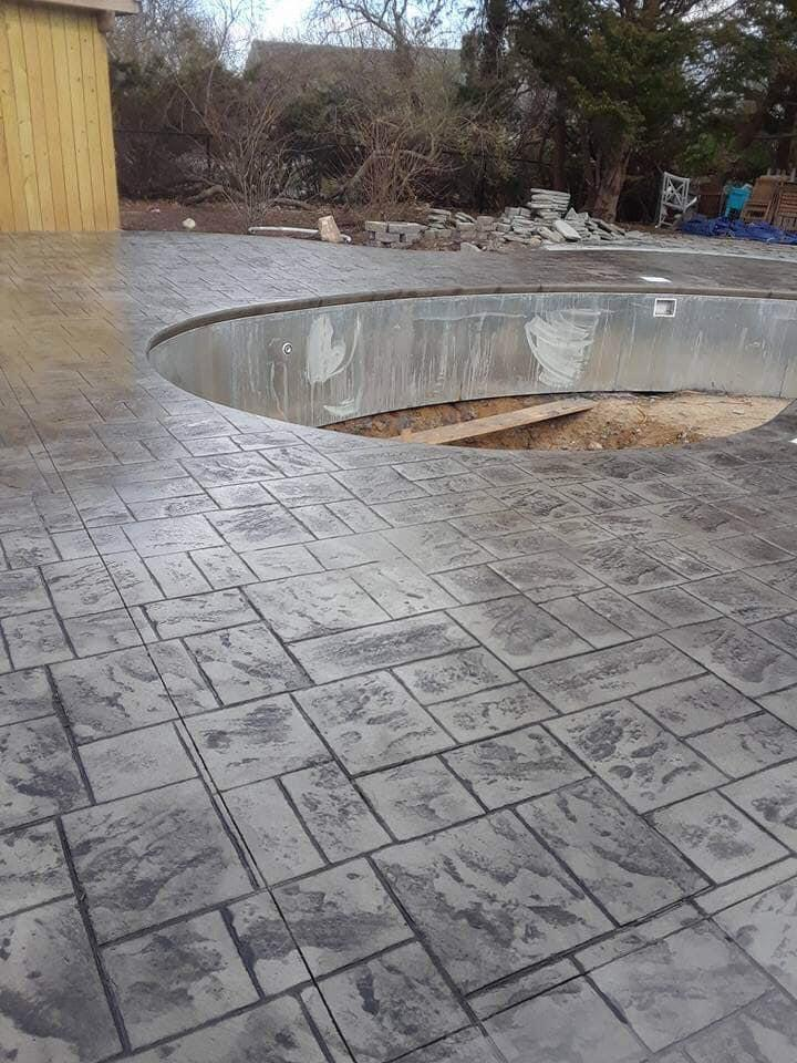 Worcester Stamped Concrete